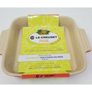 Le Creuset Poterie Square Baking Dish 9.25 inches